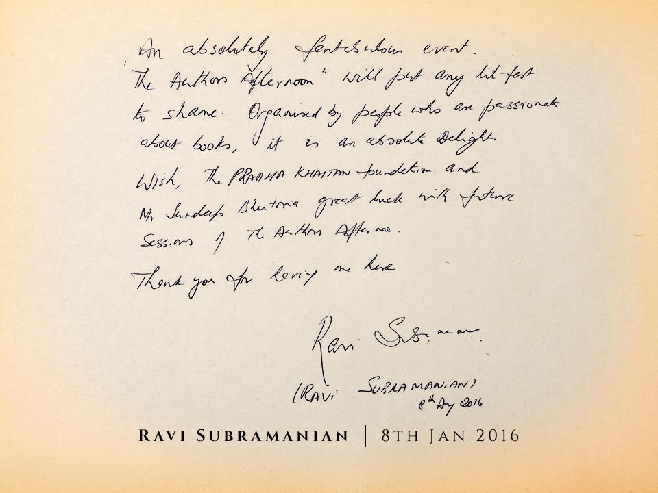 28 Ravi-Subramanian