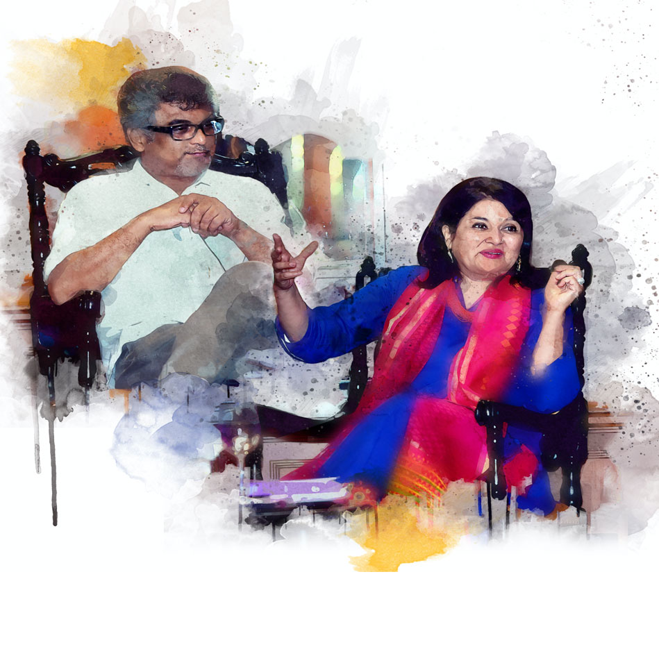 Lady-Kishwar-Desai-with-Suman-Mukhopadhyay
