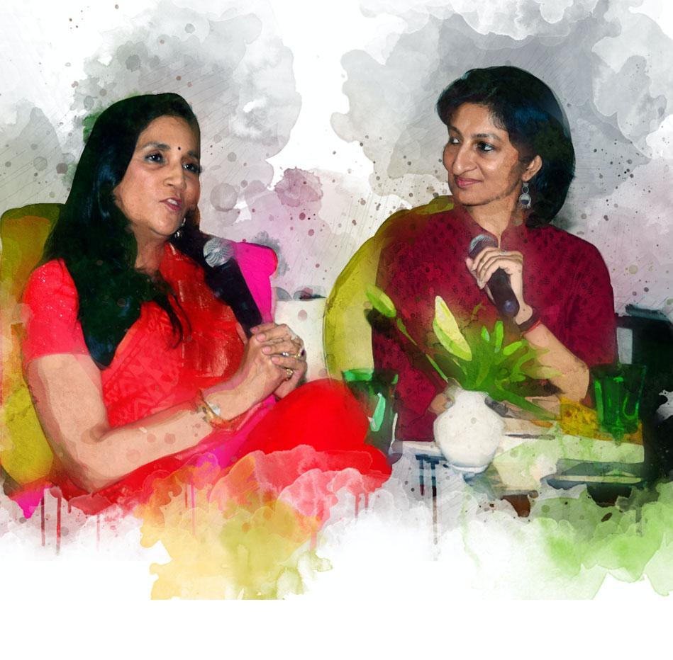 Neelima-Dalmia-Adhar-with-Supriya-Newar