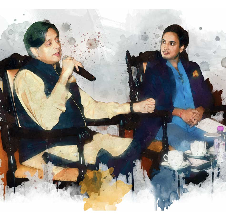 Shashi-Tharoor-with-Kanisk-Tharoor
